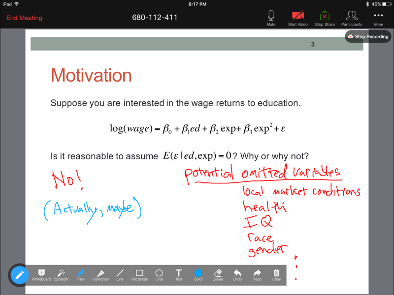 Lecturing with an iPad Pro - Teach Better
