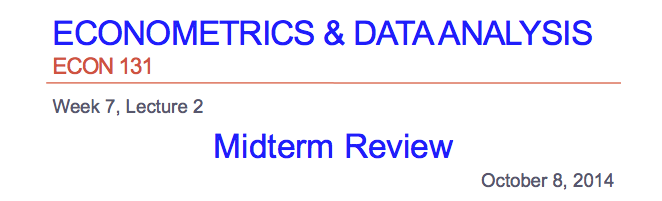a midterm review of a class program - fall 2012 class 10 - review (midterm i) practice questions for midterm i 1 given the linear program, max 3 x 1 + 4 x 2 st-x 1 + 2 x 2  fall 2012 class 10 .